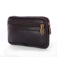 手机腰包男士穿在皮带上的竖款挂腰间钱包休闲时尚放手机的包