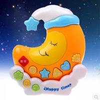 月亮宝宝故事机 儿童益智早教机学习机投影音乐玩具