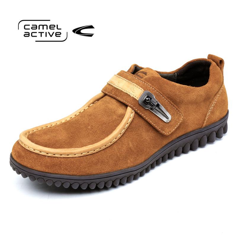 Camel Active/骆驼动感潮流日常休闲鞋头层牛皮时尚男鞋