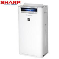 夏普 (SHARP) 空气净化器 KC-WG50-W 除雾霾PM2.5除甲醛杀菌加湿型家用办公室用