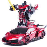 遥控汽车金刚充电动大黄蜂机器人赛车儿童男孩玩具车