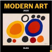 英文原版 MOMA 纽约现代艺术博物馆 2020年挂历 新年日历 博物馆礼品周边 Modern Art 2020 Wa