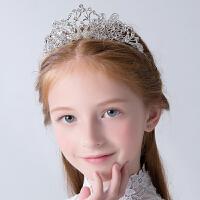 女童皇冠儿童头饰发饰公主发箍小女孩生日水钻女宝宝礼服配饰