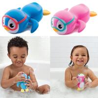 游泳企鹅儿童洗澡玩具婴儿宝宝戏水玩具浴室