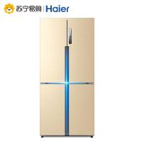 【苏宁易购】Haier/海尔 BCD-458WDVMU1 458升家用智能变频四门风冷无霜电冰箱