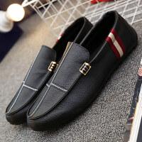 鞋子男士潮流休闲鞋鞋一脚蹬英伦男鞋