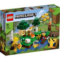 LEGO乐高积木 我的世界系列 21165 养蜂场 游戏周边儿童玩具 男孩女孩 生日礼物 12月上新