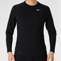 幸运叶子 Nike耐克长袖男T恤冬季新款运动服训练健身套头衫CV3047-010