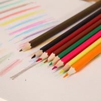 杜比素描笔 画画彩铅笔儿童 彩色铅笔12/18/24/36色筒装绘画铅笔
