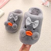 儿童棉拖鞋冬季可爱防滑宝宝小孩男童女童小中童保暖居家毛毛拖鞋