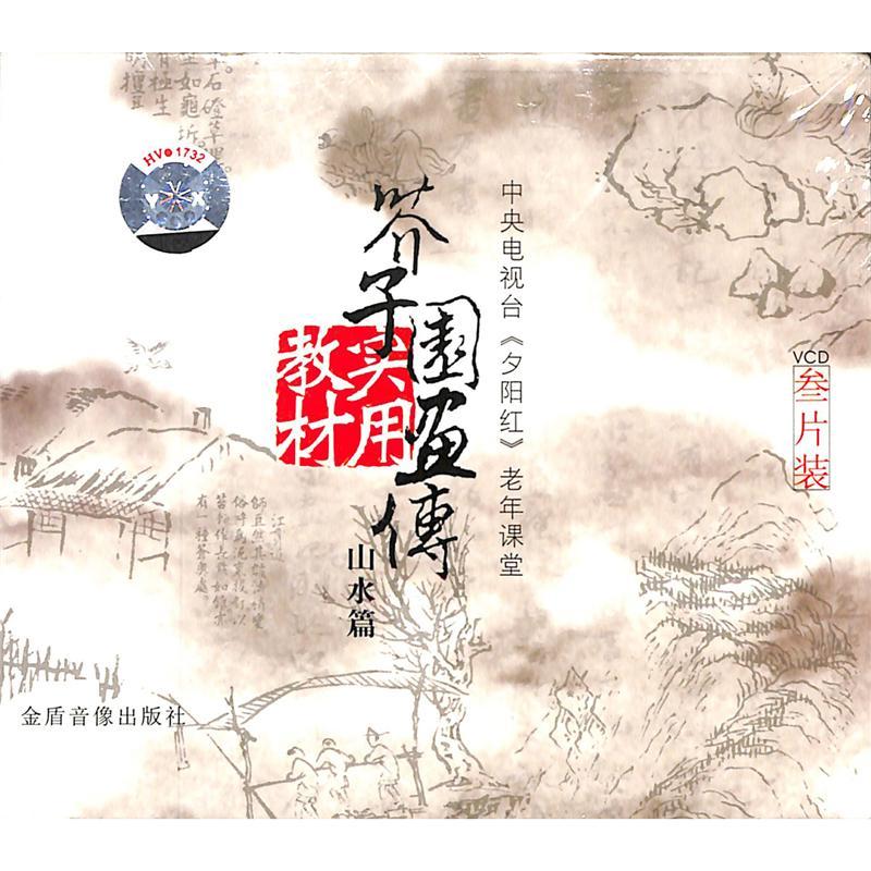 芥子园画传实用教材-山水篇(叁片装)VCD