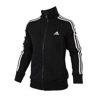 Adidas阿迪达斯  女子训练运动休闲针织夹克外套  S97427  现