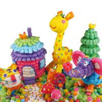 六一礼品无毒魔法魔幻缤纷DIY玉米粒3000粒手工制作创意儿童玩具