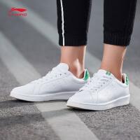 李宁休闲鞋男鞋2017新款运动时尚系列耐磨防滑滑板鞋运动鞋AGCM197