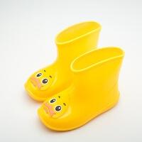 20190822074152079小童鞋儿童雨鞋男女童水鞋水靴防滑防水加绒保暖胶鞋可爱卡通小学生1-9岁婴幼儿宝宝雨靴