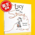 现货 露西和绳子 儿童绘本 3-5岁 精装 Vanessa Roeder 英文原版 Lucy and the Stri