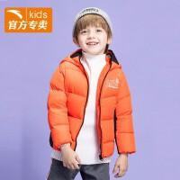 【商�鐾�款】安踏童�b男童羽�q服2020冬季保暖眼�R羽�q服35949957
