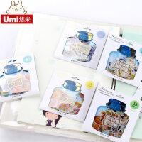韩国文具可爱手机装饰小贴纸手账帐本日记本DIY相册卡通贴纸画