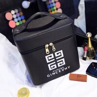 新款化妆箱大号双层化妆品收纳包便携旅行防水大容量手提化妆包