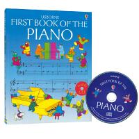 Usborne First Book Of The Piano 我的第一本钢琴图画书 儿童钢琴入门书 音乐英语启蒙 儿