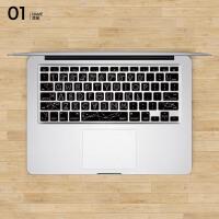 苹果电脑键盘保护膜macbook pro/air11 12 13寸笔记本贴纸