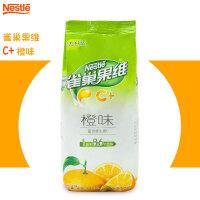 雀巢 果�SC+甜橙味果珍粉840g餐��b �料�C�_�速溶橙汁果汁粉