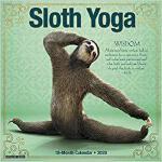 【预订】Sloth Yoga 2020 Mini Wall Calendar 9781549208614