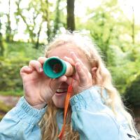 Hape儿童户外玩具八倍望远镜5岁+