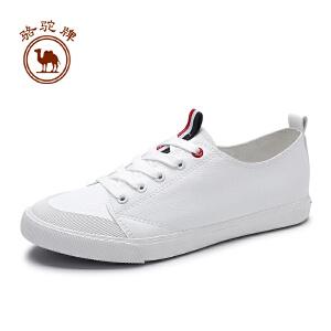骆驼牌情侣鞋 新款韩版时尚休闲女鞋软底低帮男鞋