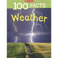 100 Facts Weather 100个事实 天气 儿童英语百科知识科普书读物 7岁+ 英文原版进口图书