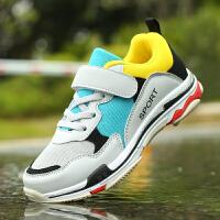 儿童运动鞋男春秋网面小孩鞋防滑跑步鞋男童鞋百搭单鞋