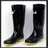 雨鞋男高筒防滑水鞋中筒耐磨雨靴牛筋底套鞋厨房洗车雨鞋胶鞋