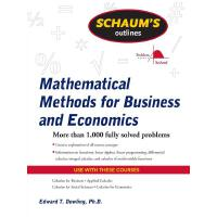 Schaum's Outline of Mathematical Methods for Business and E