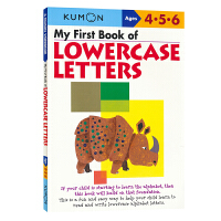 Kumon Verbal Skills My First Book of Lowercase Letters 4-6岁