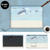 笔记本电脑贴膜贴纸华硕VM580D F550L X550C X550V定制外壳保护膜 SC-919 三面+键盘贴