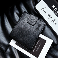 钱包男短款男士拉链钱夹青年韩版钱包男驾照迷你钱包   CY-135