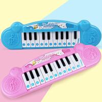 【每满200减100】育儿宝 电子琴 迷你小钢琴23键乐器女孩男孩3岁以上生日礼物亲子互动儿童音乐玩具用品