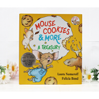 Mouse Cookies and More老鼠饼干故事合集 廖彩杏推荐 让重复句当家包含四本故事书,九种食谱,九款游戏,可以和家人一起分享精装 CD If you give a mouse a co