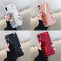 3D网红反光软壳8plus苹果x手机壳XS Max/XR/iPhoneX/7p/6女iphone6s x/xs通用 菱
