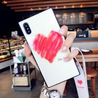 玻璃�坌�炖K�O果x手�C�す枘z包�7plus潮牌8p新款iphone6s女 6/6S 4.7寸 白色