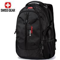 【支持礼品卡支付】SWISSGEAR瑞士军刀双肩旅行包 男女笔记本电脑包15.6英寸减负耐磨高中学生书包背包