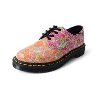 Dr.Martens 马丁8孔拼色彩绘印花皮鞋【美国直邮】