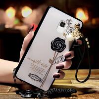 三星A5200手机壳女款2017版galaxy A5带挂绳防摔软壳SM-A520F保护5200套3星