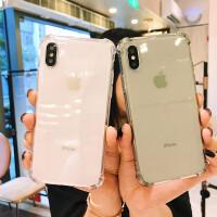 「买二送一」新款气囊女苹果X防摔壳iphone6Splus全包软壳7plus硅胶手机套8plus男女