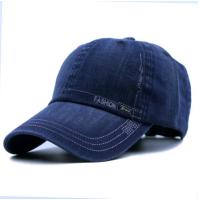 2018新品韩版帽子男春秋季时尚鸭舌帽潮男士棒球帽户外休闲牛仔遮阳帽男士 可调节