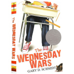 英文原版小说 The Wednesday Wars 星期三的战争 青少年10 15岁儿童文学 2008年纽伯瑞银奖