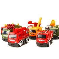 仿真回力合金车模儿童玩具小汽车合金工程车模型玩具 生日礼物六一圣诞节新年礼品