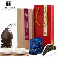 至茶至美 知遇茶礼 浓香型 铁观音木质茶叶礼盒装 安溪乌龙茶 高山茶叶 传统碳焙 250g 包邮