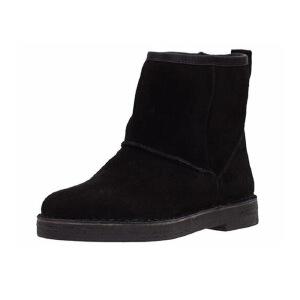 【香港现货】Clarks/其乐女鞋2017秋冬新款时尚休闲雪地靴Drafty Day专柜正品直邮