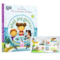 Usborne What Are Germs 幼儿问与答 细菌是什么 英语翻翻书 低幼百科 生活常识 养成健康习惯 儿